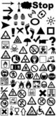 Signs prevention vector — Photo