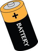 Battery vector illustration — Stock Vector