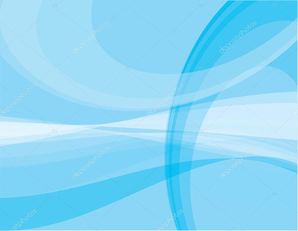 blue poster background design