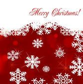 Vector de fondo de navidad con decoración del árbol de eva — Vector de stock