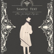 Royalty-Free Stock Imagen vectorial: Vintage background for Book cover vector