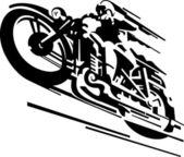Moto vector background — Vecteur