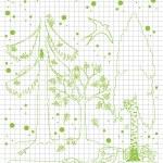 Bird and tree vector background — Stock Vector