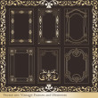 Royalty-Free Stock Vector Image: Vintage elements for frame or book cover, card