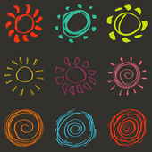 抽象背景装饰元素矢量图 — 图库矢量图片