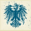 Eagle coat of arms  vector - Stok Vektr