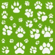 Cats, dogs and other pet footprints — Stock Vector #4449228