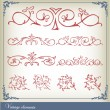 Royalty-Free Stock Vector Image: Abstract vintage frame and elements background