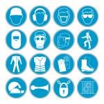 Hazard warning, health & safety and public information signs set — 图库矢量图片