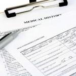 formulaires d'assurance — Photo