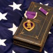 Royalty-Free Stock Photo: Vintage WWII Purple Heart