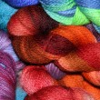 Royalty-Free Stock Photo: Colorful skeins of yarn.