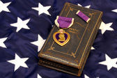 Vintage WWII Purple Heart — Stock Photo