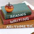 Reading, Writing and Arithmetic — Stock Photo