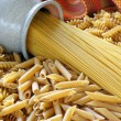 Stock Photo: Healthy Whole Grain Pasta