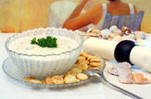New England Clam Chowder — Stock Photo