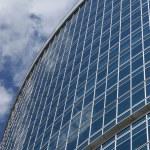 Window glass facade office building — Stock Photo