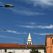 Stock Photo: Streets of the old town of Porec, Istria, Croatia