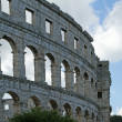 View of the Arena (colosseum)  in Pula, Croatia — Stock Photo