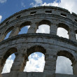 Royalty-Free Stock Photo: Panoramic view of the Arena (colosseum)  in Pula, Croatia