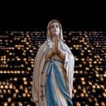 Mary (mother of Jesus). Church of St. Eufemia (Euphemia), Rovinj, Croatia — Stock Photo #4565663