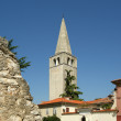 Streets of the old town of Porec, Istria, Croatia — Stock Photo