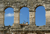 View of the Arena (colosseum) in Pula, Croatia — Foto Stock