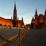 Kızıl Meydan, gece, moscow, Rusya Federasyonu — Stok fotoğraf