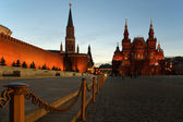 Red Square at night, Moscow, Russia — Стоковое фото