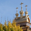 Moscow, Russia, Kolomenskoye. Wooden church — Stock Photo