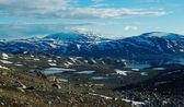 Kuzey i̇skandinavya'da yürüyüş — Stok fotoğraf