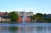 Breiavatnet in Stavanger, Norway — Stock Photo