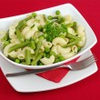 Pasta with Green Vegetables — Stock Photo #4443315