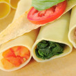 Filled Cannelloni — Stock Photo