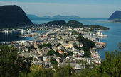 Aalesund by Day — Stock Photo