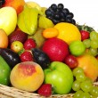 Exotic Fruits in Basket - Stock Photo