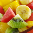 Постер, плакат: Tropical Fruit Mix Kiwi Mango Banana Melon