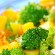 Постер, плакат: Broccoli on Fresh Salad
