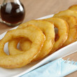 "Stock Photo: PeruviDessert Called ""Picarones"""