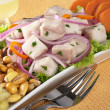 Peruvian-Style Ceviche - Stock Photo