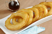 "Peruvian Dessert Called ""Picarones"" — Stock Photo"