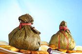 "Traditionele peruviaans voedsel genaamd ""juane"" — Stockfoto"