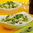 Pasta with Green Vegetables — Stock Photo #5221598
