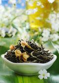 Жасминовый чай — Стоковое фото