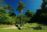 Ruinas en pueblito, colombia — Foto de Stock