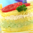 Peruvian Dish Called Causa - Stock Photo