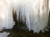 Frozen waterfall. — Stock Photo