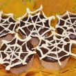 "Cupcakes ""Halloween"" — Stock Photo"