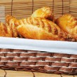 Pies in basket — Stock Photo #3935304