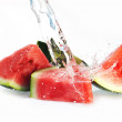 Stock Photo: Fresh watermelon